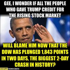 IQ45 dropped the Dow. Keep saying it people!!!