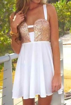 Perfect bachelorette party dress!