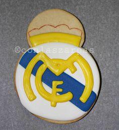 Escudo Real Madrid {by Paula, Galletilandia}