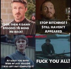 Gendry's been rowing for like 4 seasons. Poor guy. I hope Arya finds him when she comes back to Westeros.