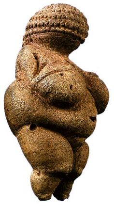 Woman From Willendorf, c. 24,000 BCE., prehistoric Paleolithic (c. 40,000-8,000…