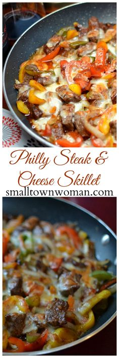 Do you like Philly Steak & Cheese but don't wneed or want the carbs! Here is your solution! This is fabulously delicious and easy! Steak Recipes, Low Carb Recipes, Cooking Recipes, Healthy Recipes, Steak Meals, Beef Dishes, Food Dishes, Main Dishes, Low Carb Side Dishes