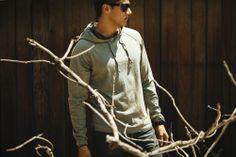 // Kane Hoodie - Bay  // Model: Neil Sanchez