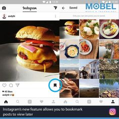 Instagrams new feature allows you to bookmark posts to view later