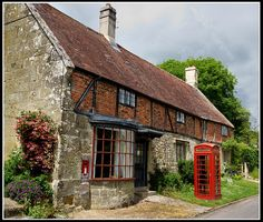 The Old Post Office, Compton Chamberlayne, Wiltshire by Howard Somerville, via Flickr