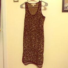 Michael Kors Dress Gently used Michael Kors camo shift dress! Please no low offers or trades.  Michael Kors Dresses Midi