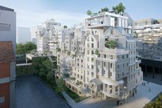 marin + trottin proposes innovative housing project for paris