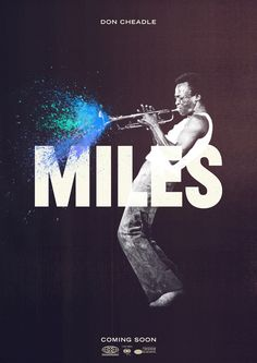 Movie might be fake, but Miles was a genius and I really dig this print.