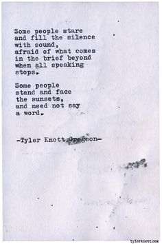 Typewriter Series #2083 by Tyler Knott Gregson Go grab some holiday gifts at chasersofthelight.com/shop !