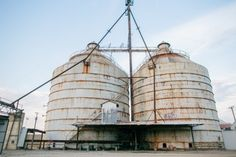 """Fixer Upper stars and Baylor alums Chip & Joanna Gaines will be moving their Magnolia Homes storefront to these historic silos in downtown Waco! Joanna says, """"It's a piece of the past that I am drawn to. The way things used to be, simpler times."""""""