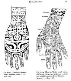 Risultati immagini per marquesan tattoo hand Maori Tattoos, Hand Tattoos, Maori Tattoo Designs, Marquesan Tattoos, Polynesian Tattoo Meanings, Polynesian Art, Polynesian Tattoos, Tattoo Motive, Different Tattoos