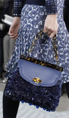 Details  Tory Burch Runway Fall 2012 loveee this awesome bag! eaa011927ed82