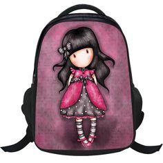 2017 new school bag cute backpack girl Nylon student bag mochilas escolares infantis  children school bags for girls Knapsacks. Cute BackpacksGirl ... b78c7f3064547