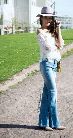 Look da Tati Baumjohann calca Flare BlogPPV 5