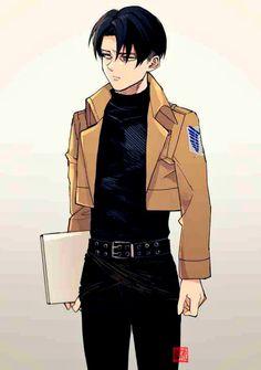 Levi Ackerman, Attack on Titan Levi Ackerman, Levi X Eren, Ereri, Naruto, Anime Guys, Manga Anime, Kou Diabolik Lovers, Kuroko, Levi X Petra