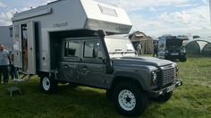 Land Rover Defender 130 TDCI With demountable Bimobil 2 Berth Motorcaravan