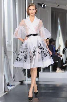 Dior Haute-Couture Runway at F/W 2012 Paris Fashion Week - Style Crush: Karlie Kloss - Photos