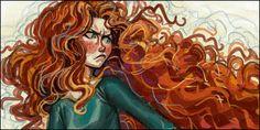 Fan Art Friday: Merida from Brave | Fandomania