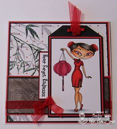 Marilyn's Cards and More: Kraftin' Kimmie Challenge - Use A Tag!