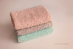 Beautiful textured knit wrap in mint, peach or coco. Each measures approximately 15x58  Wraps are cut to size and edges are not finished. Hand wash gently and lay flat to dry.  These fabrics are also available in backdrop size in our backdrop store: https://www.etsy.com/shop/OneSheepTwoSheepNBPF?ref=profile_shopname  *Ready to Ship*  Join me on Facebook for my newest shop updates: https://www.facebook.com/itsybitsyblooms/  For discounts, specials, ...