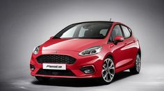 Ford teases updated Fiesta ST before February 24 debut     - Roadshow  Ford already showed off its updated 2018 Fiesta and now its time to introduce those changes to the hot-hatch Fiesta ST.  The automaker will give out full details on the 2018 Fiesta ST on February 24 but ahead of that its thrown out a little teaser video on the Ford UK Facebook page. The car is camouflaged and it can be seen ripping through the Fiesta assembly facility before drifting under a bicyclist for some reason…
