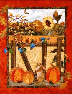 "Good Measure, 32 x 42"", pattern by Sandra Coffman 