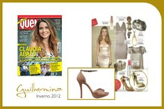 Clipping revista Quem  #guilhermina #sapatodeluxo #guilhermina_shoes #trend  #moda #calcadosfemininos #shoes