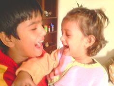 My lovely kids!