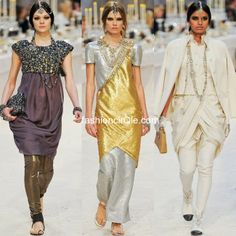 Style Talk : India inspires International Designers  India has been an inspiration to a lot of people and countries over the years. And it seems like big International Fashion houses are the latest ones to be smitten by the Indian charm.    From producing Fashion collection inspired by Indian cities and vintage sarees to roping Indian designers to design a range of minaudieres, India is surely making an impact everywhere.    Take a look  ...