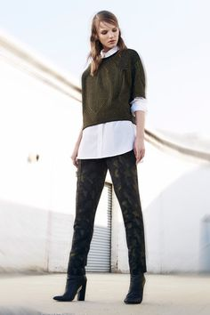 BCBG Max Azria   Pre-Fall 2014 Collection   Style.com // camo done right