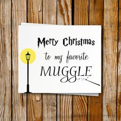 Harry Potter Christmas Card Printable DIY Von PrintyMuch