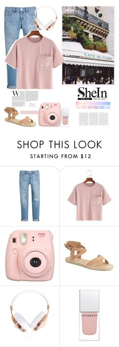 """""""Shein  top"""" by sweet-fashionista ❤ liked on Polyvore featuring Prada, White House Black Market, Joe's, Frends, Givenchy, spring2016 and shein"""