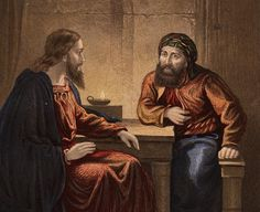 Meet the Pharisee Who Placed Jesus' Body in the Tomb: Circa 33 A.D., Nicodemus visits Jesus by night.