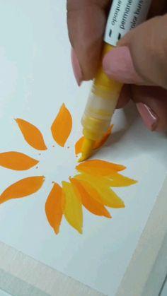 Art Drawings Sketches Simple, Diy Canvas Art, Mandala Art, Doodle Art, Art Tutorials, Diy Art, Art Lessons, Creative Art, Cute Art