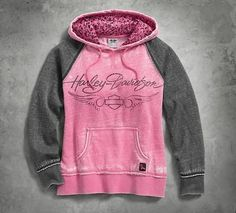 Pink Label Leopard Accent Hoodie - 99129-17VW