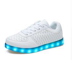 91234f8230c585 LED Schuhe Ausgestattet mit Speicherbatterie