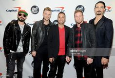 A. J. McLean, Nick Carter, Howie Dorough, Brian Littrell, and Kevin Richardson of the Backstreet Boys attend 101.3 KDWB's Jingle Ball 2016 presented by Capital One at Xcel Energy Center on December 5, 2016 in St Paul, Minnesota.