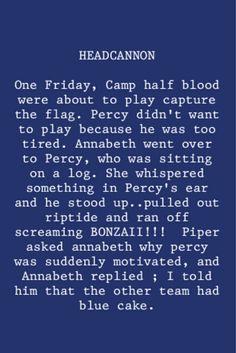 Funny Percy Jackson Headcanons | Funny Percy Jackson and Annabeth Chase