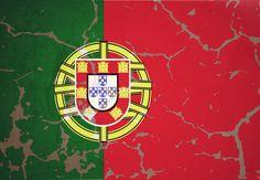 Bandeira de Portugal, estilizada.