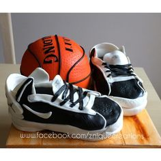 Basketball cake - Cake by Znique Creations