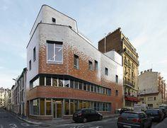 Centro Comunitario Victor Gelez por Dumont Legrand Arquitectos. Fotografía © Thomas Lannes.