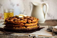 Pumpkin Waffles by pastryaffair, via Flickr