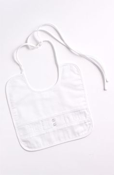 Cute bib!   Little Things Mean a Lot Sateen Bib (Infant) | Nordstrom
