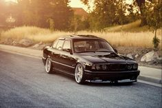 BMW E34 M5 Almost has a muscle car feel. I think it needs either forced induction if it's an m5 or a v8 swap of its a regular 5series
