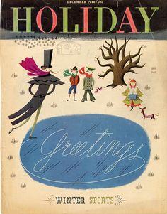 Holiday Magazine - December 1948