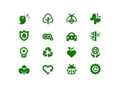 Environment Icons by Popa Ion