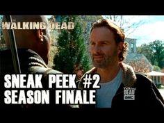 'The Walking Dead' Season 6 Finale Sneak Peek: Rick and Negan Face Off (VIDEO) | Wetpaint, Inc.