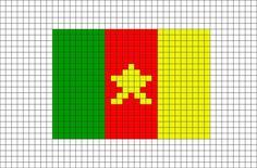 40 Idees De Drapeaux Drapeau Pixel Art Dessin Quadrille