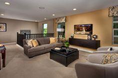 Idea for the upstairs loft area | Decorating - Loft Design ...