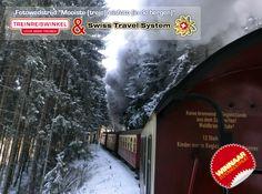"""Manfred P. gaat met 2 personen de treinrondreis Zwitserse Panorama's maken. Hij won met zijn inzending de hoofdprijs in de Fotowedstrijd """"Mooiste (trein)reisfoto (in de bergen)"""" van Treinreiswinkel en Swiss Travel System"""